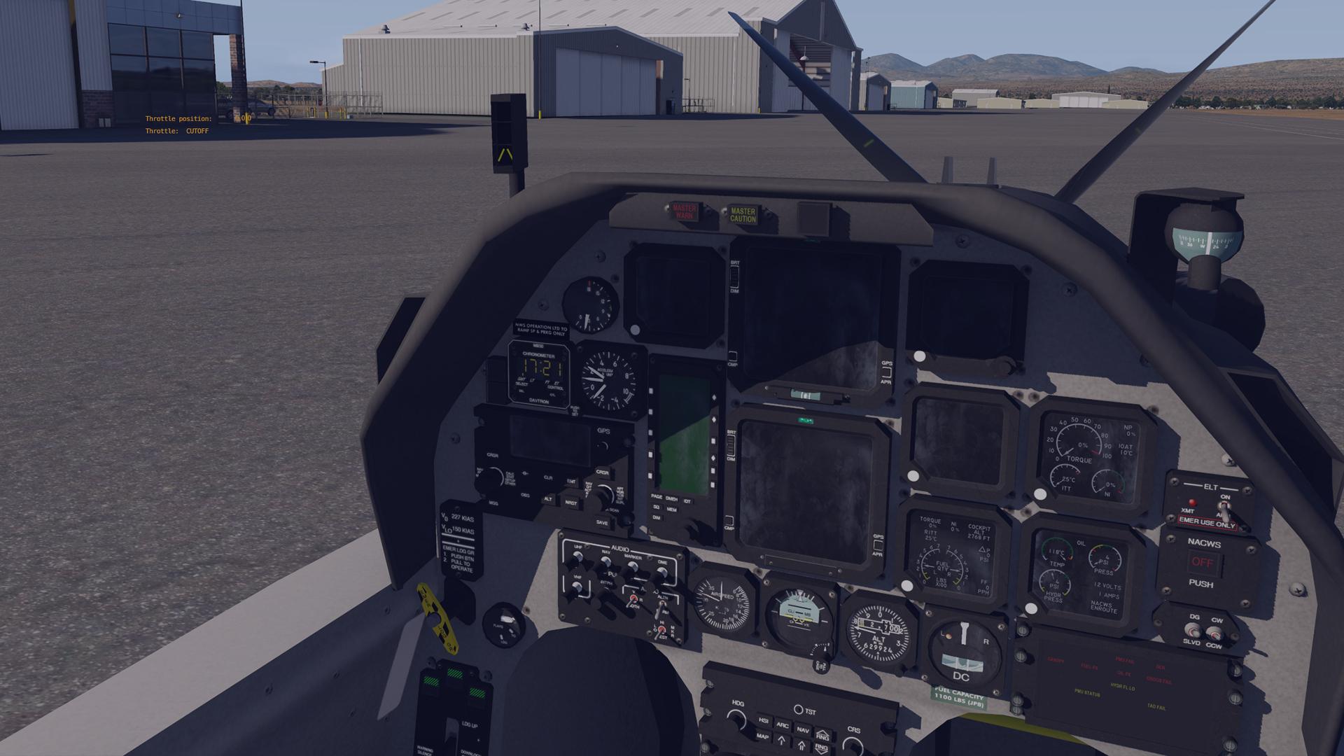 Dynamic 3D Cockpit - Flite Advantage