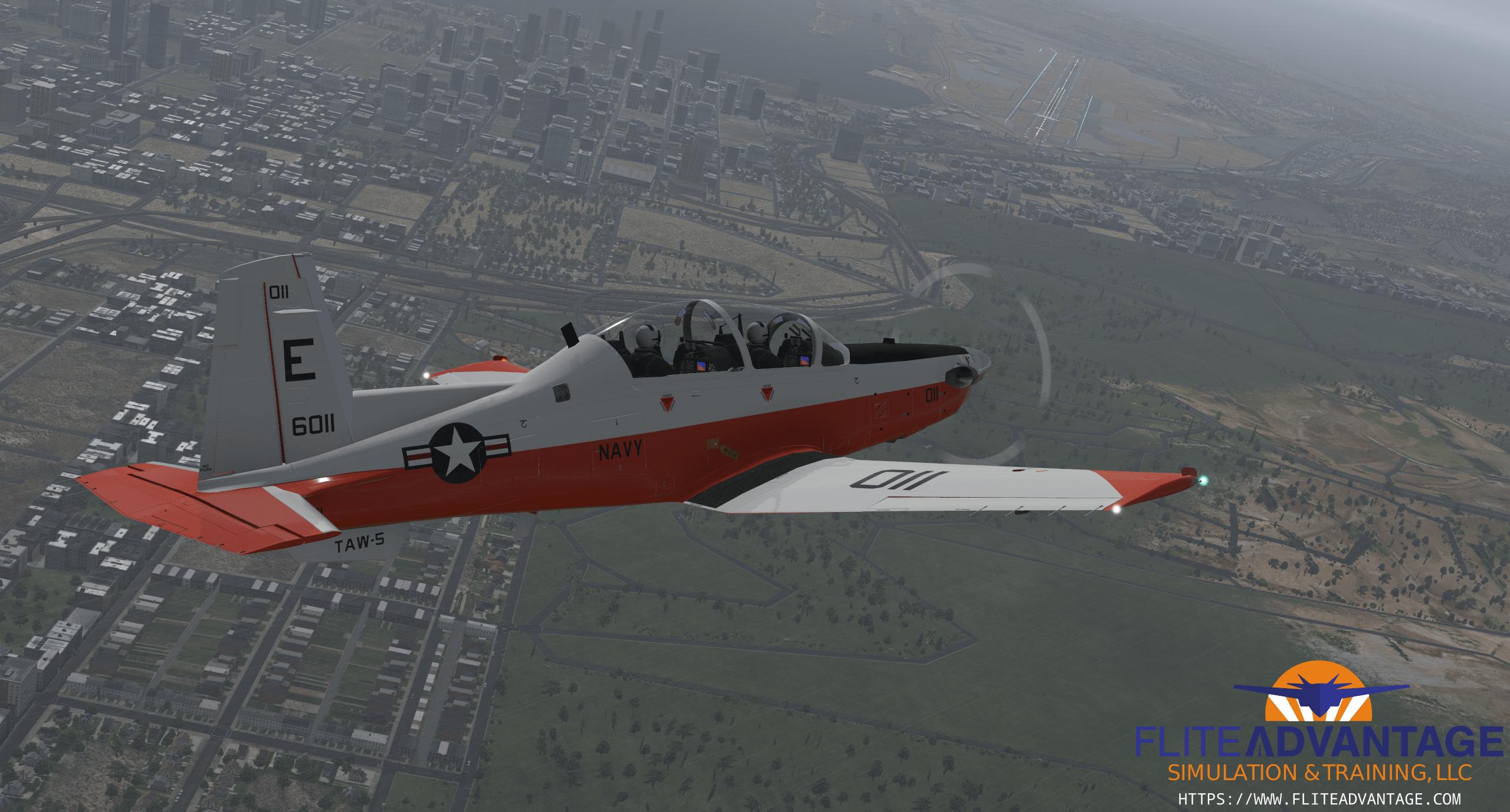 NEW!! Flite Advantage **T-6B** Texan II (Beta) for X-Plane 11!