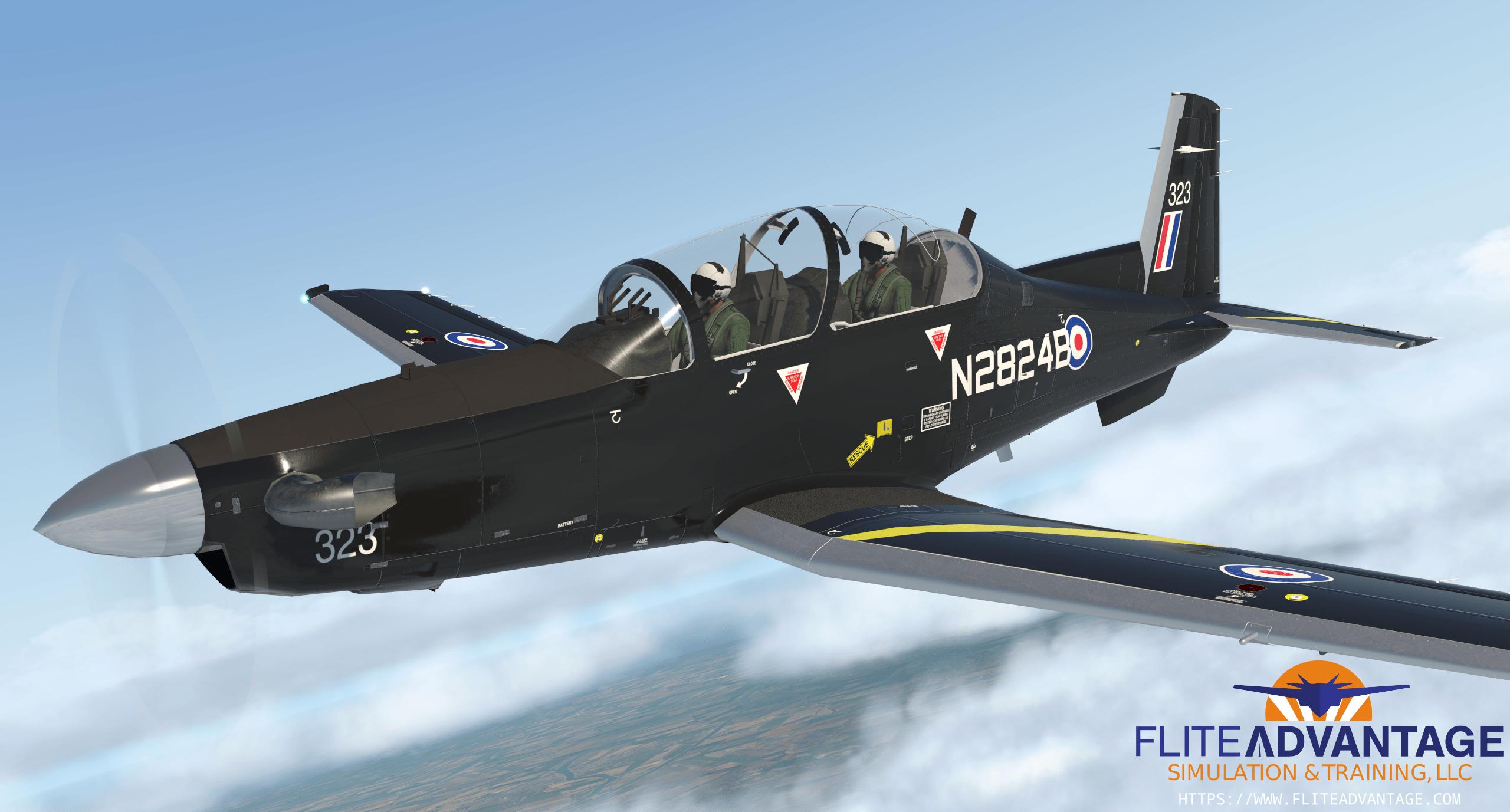 Flite Advantage T-6A Texan II for X-Plane 11